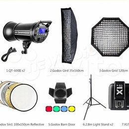Осветительное оборудование - Фотостудия. Оборудование (Новое), 0
