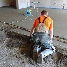 Строительные смеси и сыпучие материалы - Стяжка пола полусухая, 0