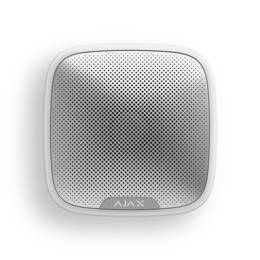 Охранно-пожарная сигнализация - Сирена уличная Ajax StreetSiren white, 0