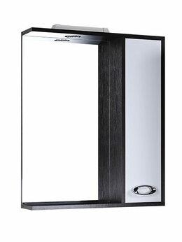 Зеркала - Шкаф-зеркало Джакарта 580 мм со светом правое, 0