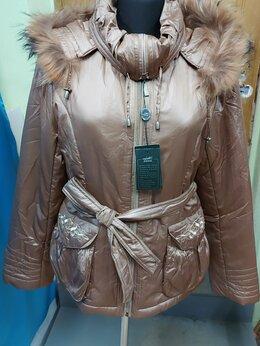 Куртки - Куртка зимняя с капюшоном натуральный Енот, 0