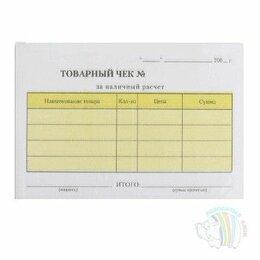 Бумага и пленка - Бланк «Товарный чек» 2-х сл. самокопир., А6…, 0