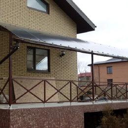 Готовые конструкции - Навес из поликарбоната , 0
