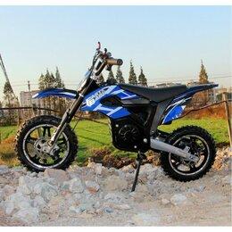 Мототехника и электровелосипеды - Электромотоцикл GreenCamel Питбайк DB400, 0