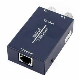 Проводные роутеры и коммутаторы - Balun rj-45 2bnc G.703, 0