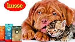 Корма  - Корм для собак и кошек (husse пр-во Швеция), 0