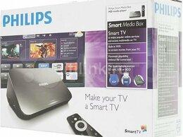 ТВ-приставки и медиаплееры - Медиаплеер с вай фай philips HMP7100, 0