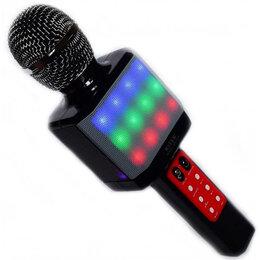 Микрофоны - Оригинальный беспроводной караоке микрофон колонка, 0