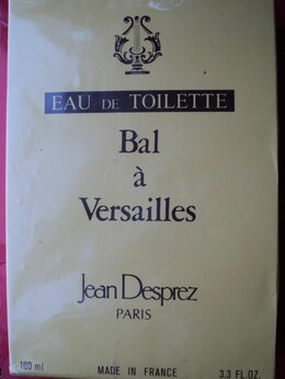 Парфюмерия -  Туалетная вода ФРАНЦИЯ Vintage Jean Desprez Bal…, 0