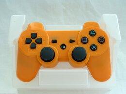 Рули, джойстики, геймпады - Джойстик для PS3 оранжевый, 0