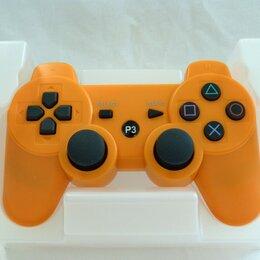 Аксессуары - Джойстик для PS3 оранжевый, 0