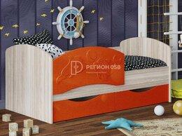 Кроватки - Кровать Дельфин-3 апельсин, 0