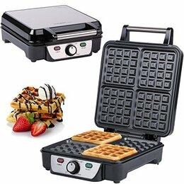Сэндвичницы и приборы для выпечки - Вафельница FIRST, 1100 Вт, 4 поверхности 22х22 см FA-5305-3 Black, 0
