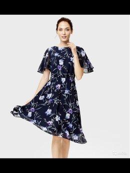 Платья - Платье из принтованного шифона Ostin, 0