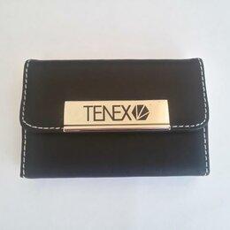 Визитницы и кредитницы - Визитница Тенекс кожа синтетика металл новая, 0