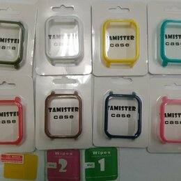 Аксессуары для умных часов и браслетов - на AmazFit Bip Защитный бампер и пленка., 0