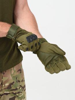 Перчатки и варежки - Перчатки тактические OKLAI олива, 0