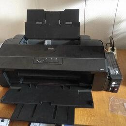 Принтеры и МФУ - Принтер струйный Epson L1800, (А3+), 0