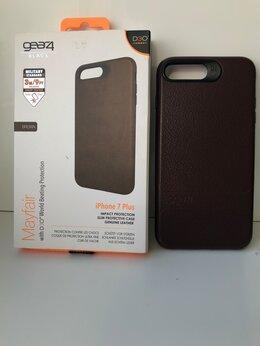 Чехлы - Кожаный защитный чехол для iPhone 7 / 8 Plus, 0