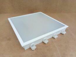 Люстры и потолочные светильники - Люминесцентный светильник ЛВО04-4х18-031PRS, 0