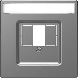 Кабели и разъемы - Центральная накладка для TAE/Audio/USB Schneider…, 0