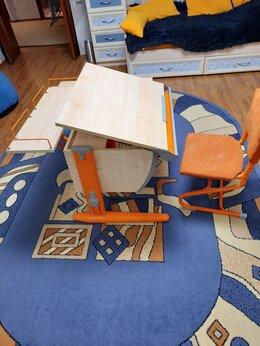 Компьютерные и письменные столы - Парта-трансформер Дэми для школьника, 0