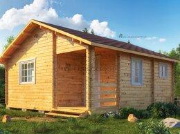 Готовые строения - Садовый домик из мини-бруса 6х6 «Весенний», 0