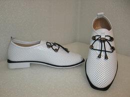 Туфли - Туфли красивые стильные из натуральной кожи, 0
