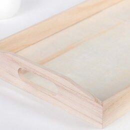 Прочее оборудование - Деревянный поднос для выпечки 60*20 см, 0