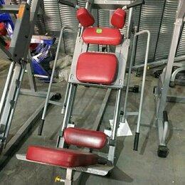 Тренажеры со встроенными и свободными весами - Жим ног / Гакк приседания / Aerofit, 0