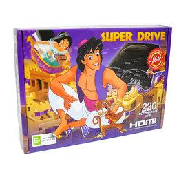 Ретро-консоли и электронные игры - Sega Super Drive Aladdin HDMI (220-in-1), 0