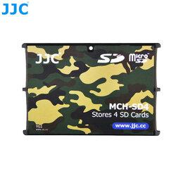 Карты памяти - Кейс кредитная карта для карт памяти JJC для 4хSD, 0