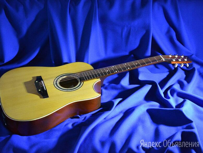 Эектроакустическая гитара по цене 6500₽ - Электрогитары и бас-гитары, фото 0