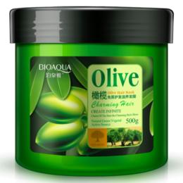 Маски и сыворотки -  Питательная маска для роста волос с маслом оливы, 0