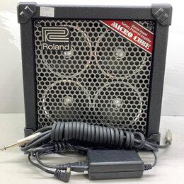 Аудиооборудование для концертных залов - Rolаnd кoмбоуcилитель Мiсrо Сubе RХ, 0