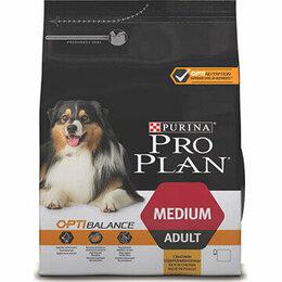 Корма  - Корм Purina Pro Plan Optibalance для собак средних, 0