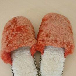 Домашняя обувь - Меховые тапочки из Овчины, 0