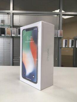 Мобильные телефоны - iPhone X 256gb silver (A1901) Ростест, 0