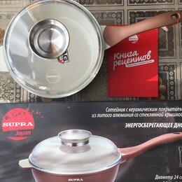 Сковороды и сотейники - Сотейник Supra Ceramic 24см, 0