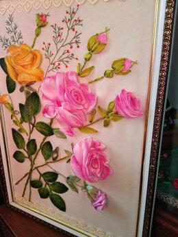 """Картины, постеры, гобелены, панно - """"Розы""""- картина ручной работы., 0"""
