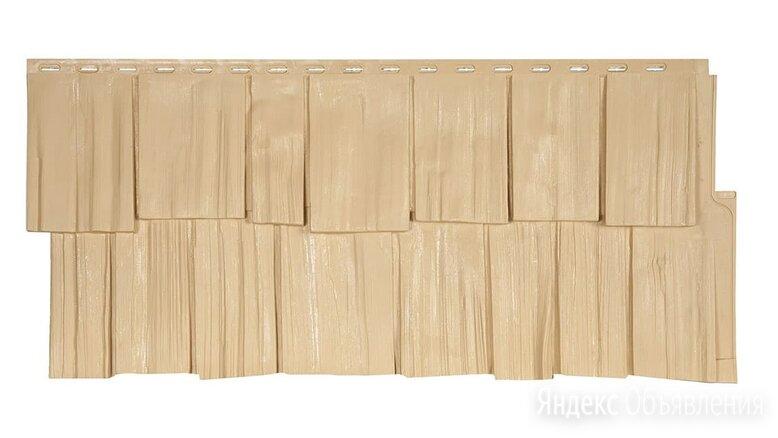 Фасадные панели (цокольный сайдинг) коллекция ЭКО-1 ЩЕПА ДУБ - Амбер по цене 414₽ - Кровля и водосток, фото 0