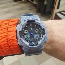Наручные часы - Casio G-SHOCK GA-100DE-2A с хронографом, 0