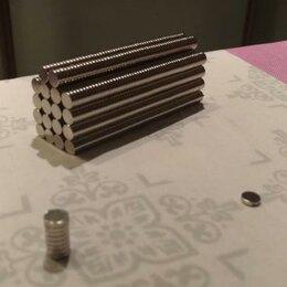 Магниты - Магниты неодимовые 8х1.5 мм., 0