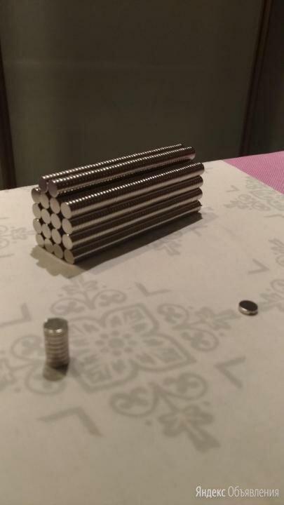 Магниты неодимовые 8х1.5 мм. по цене 4₽ - Магниты, фото 0