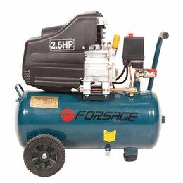 Воздушные компрессоры - Компрессор 24л FORSAGE поршневой с прямым приводом, 0