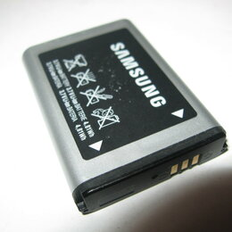Аккумуляторы - Аккумулятор Samsung C3350 AB803443BU усиленный оригинал, 0