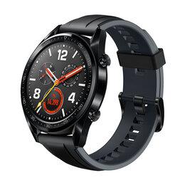 Наручные часы - Умные часы HUAWEI Watch GT Sport (Black), 0