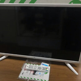 Телевизоры - Телевизор LED Hi 32HT101W белый новый, 0