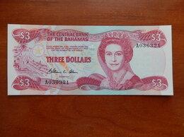 Банкноты - БАГАМСКИЕ ОСТРОВА  3 доллара 1974 г., 0