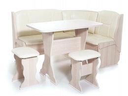 Мебель для кухни - Кухонный уголок Орхидея (ясень/Barneo Milk), 0